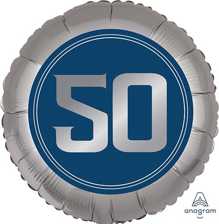 45cm Standard XL Happy Birthday Man 50 S40