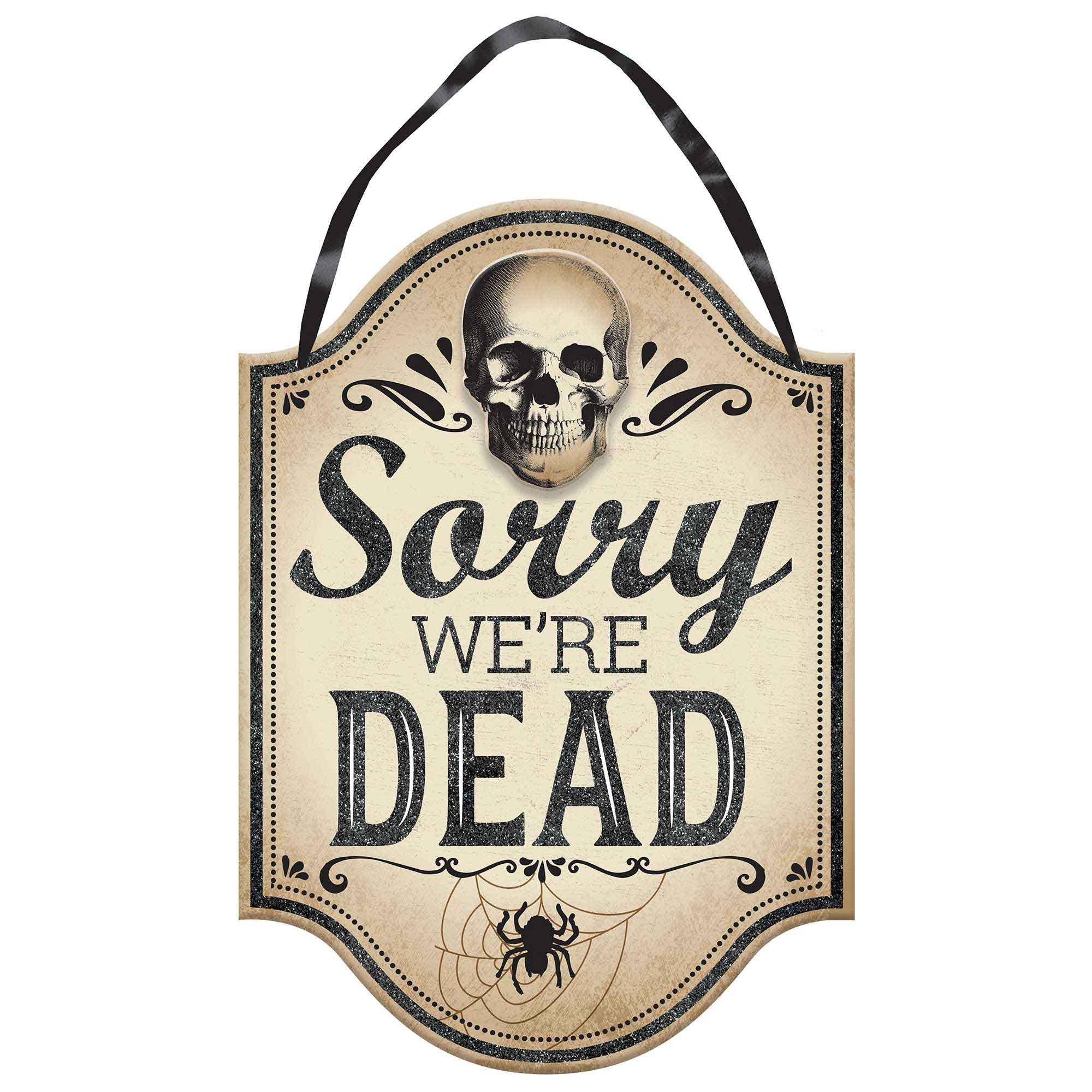 Boneyard MDF Hanging Sign