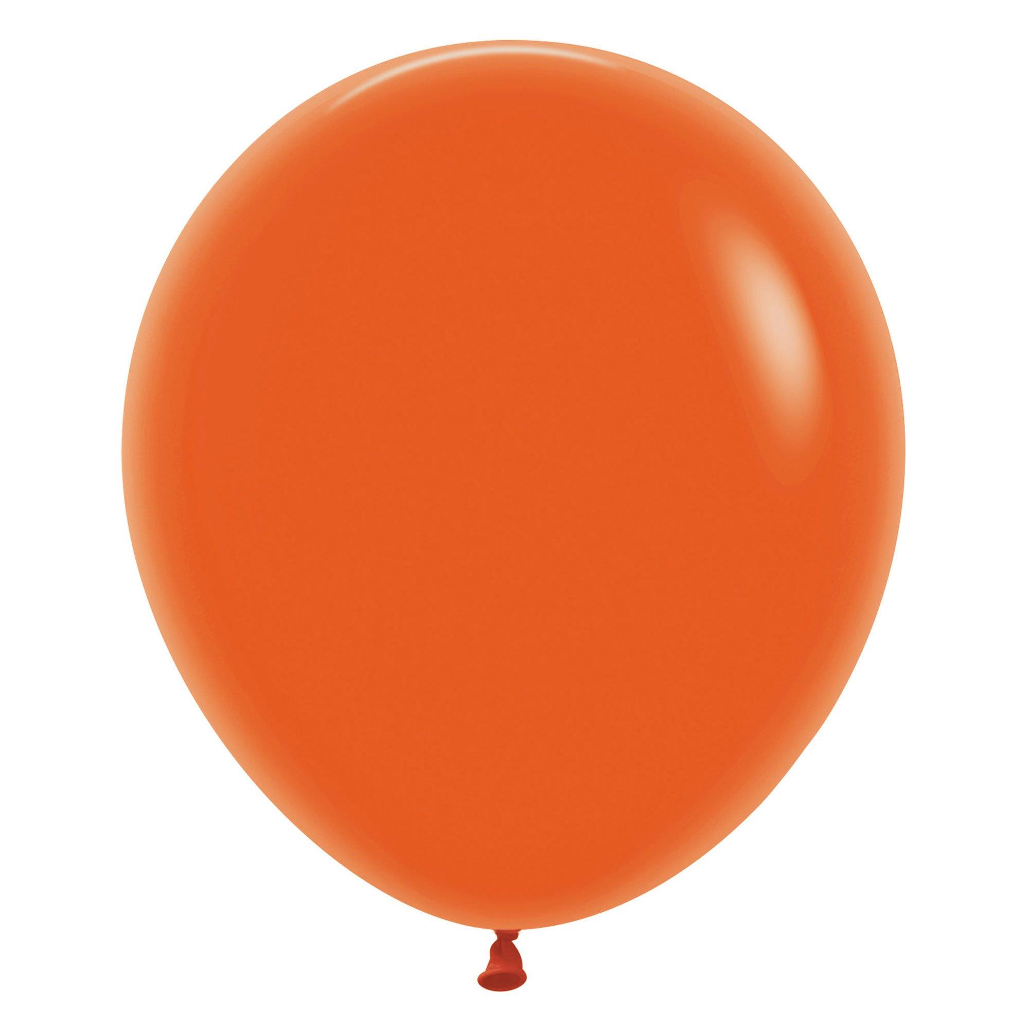 Sempertex 45cm Fashion Orange Latex Balloons 061, 6PK