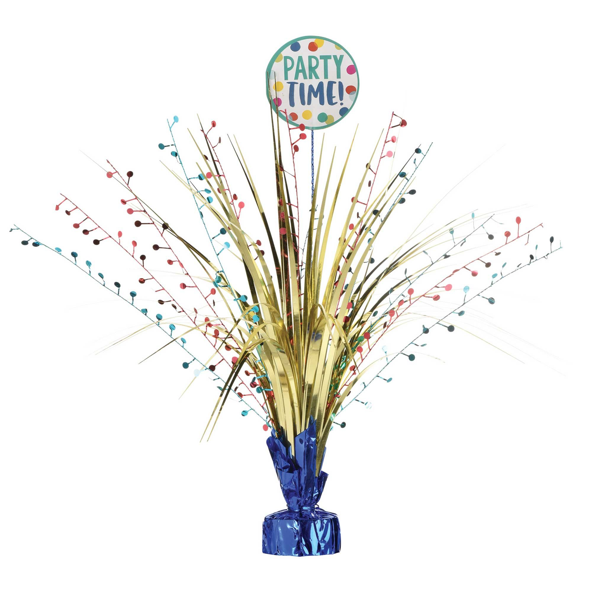 Happy Dots Party Time Spray Centrepiece