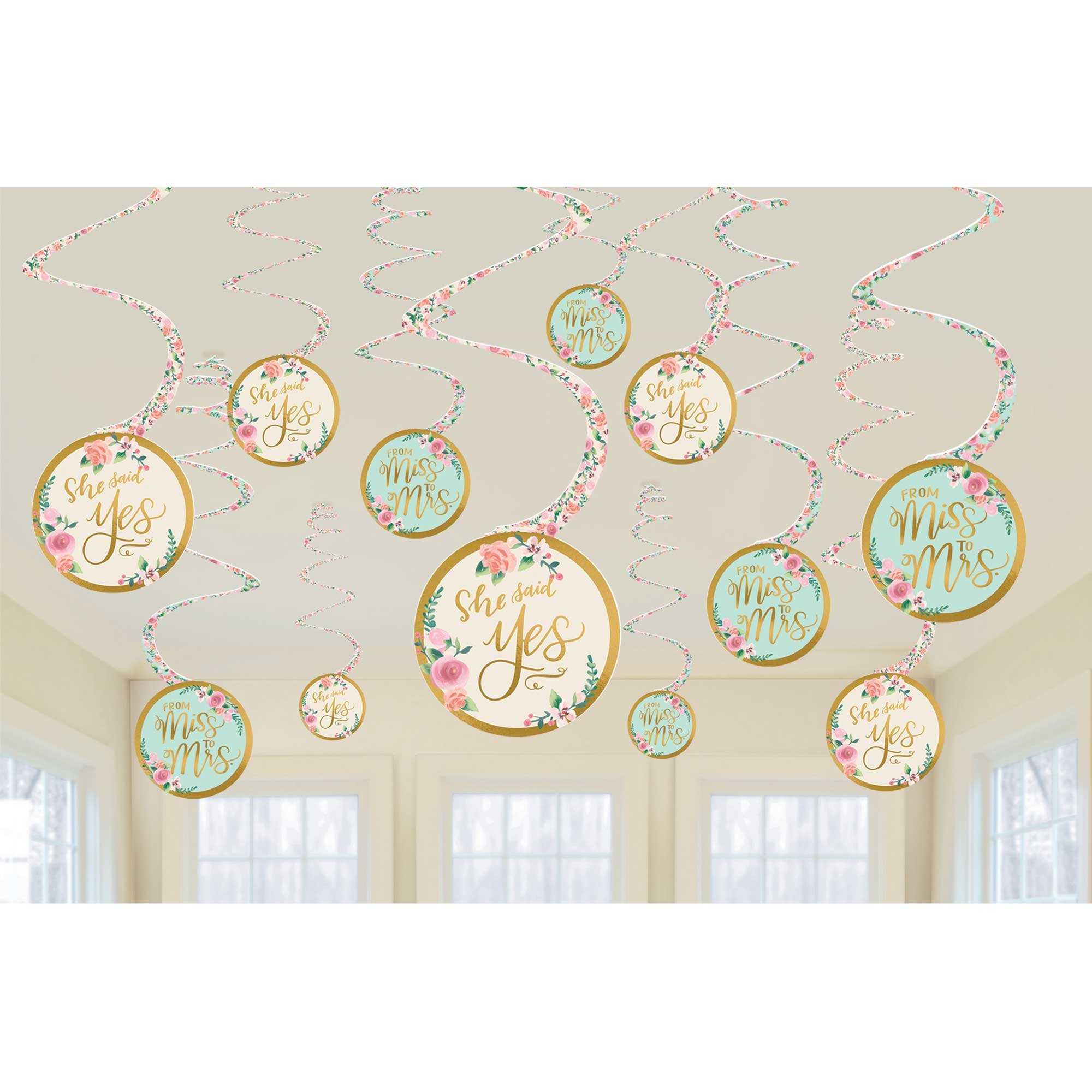 Mint to Be Hanging Spiral Decorations Value Pack