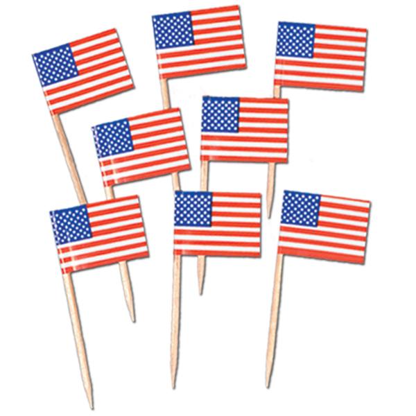 American USA Flag Picks