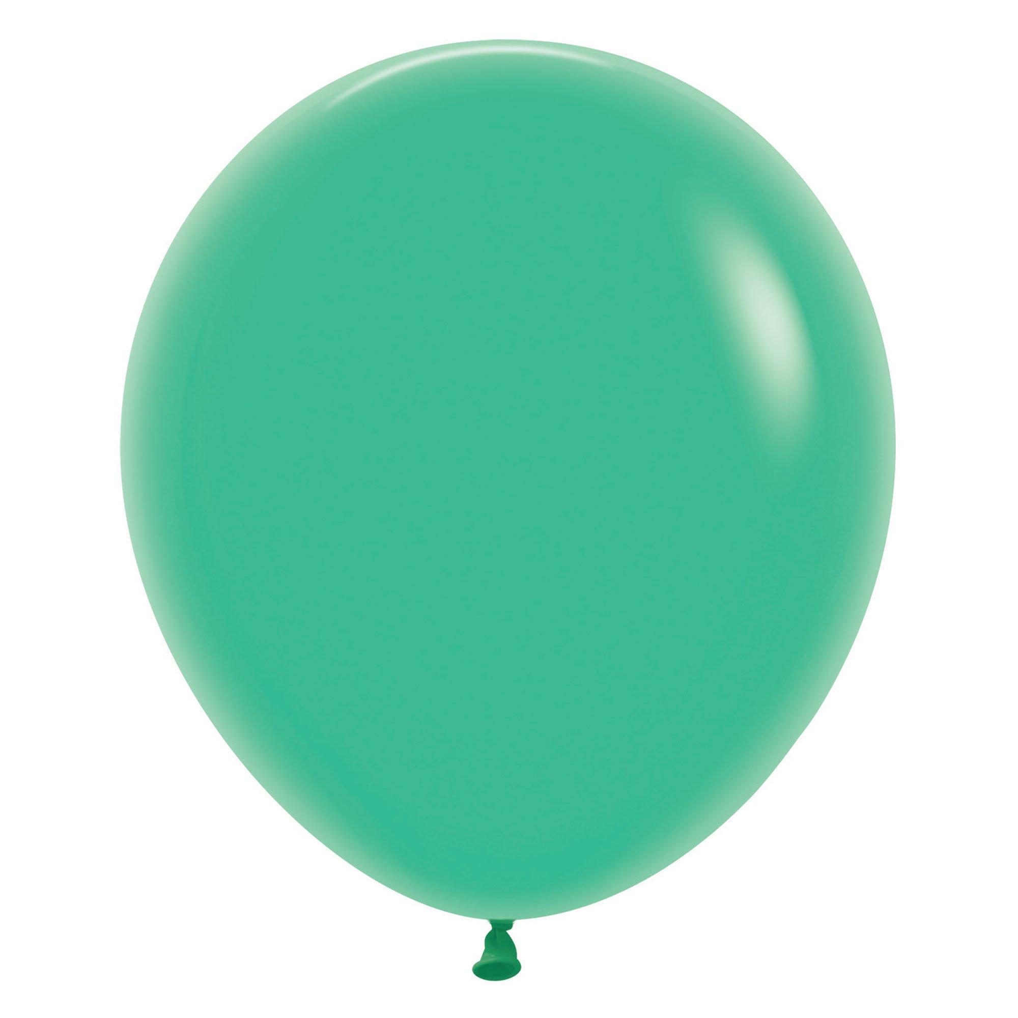 Sempertex 45cm Fashion Green Latex Balloons 030, 6PK