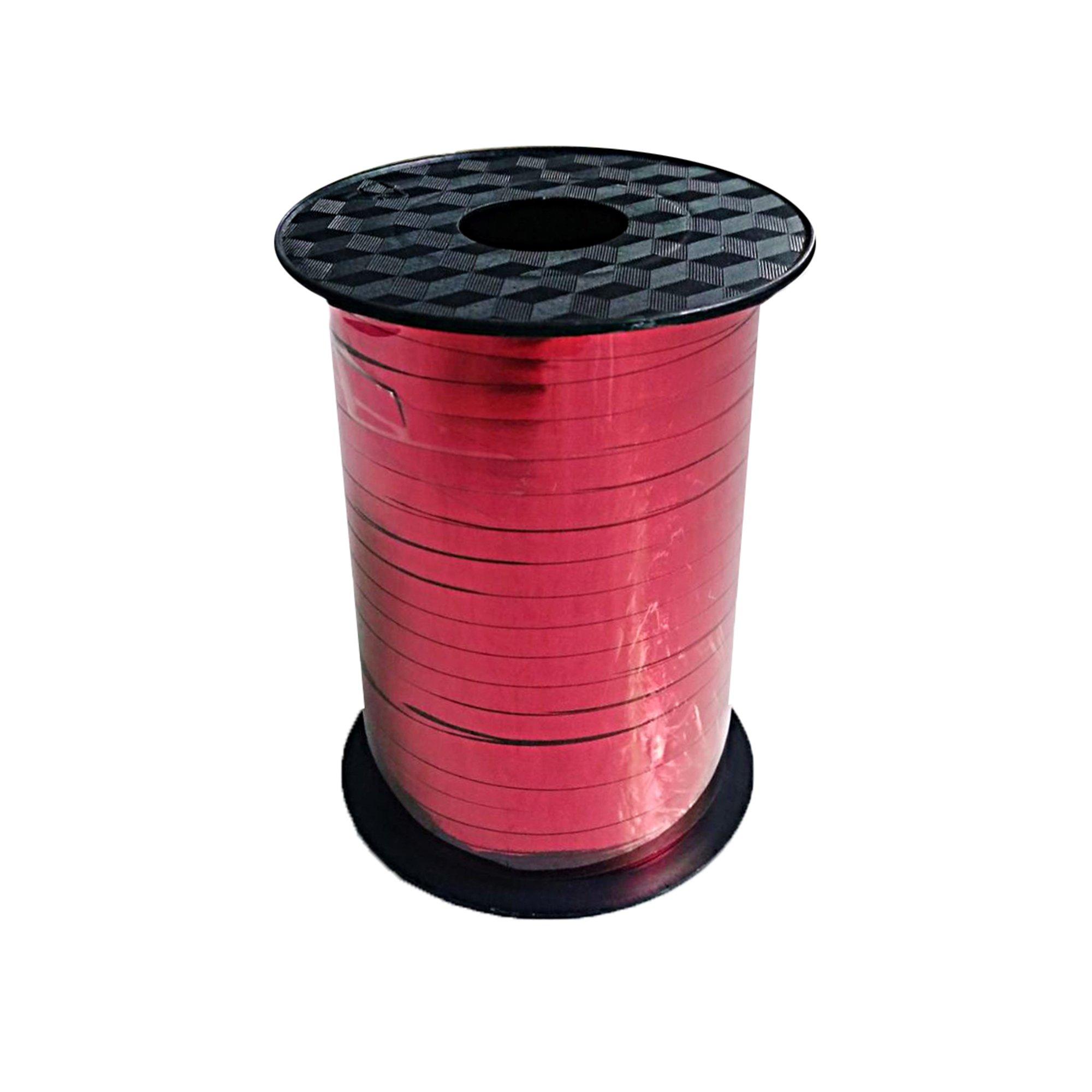 Balloon Metallic Ribbon - Red
