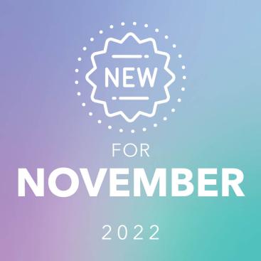 New for November