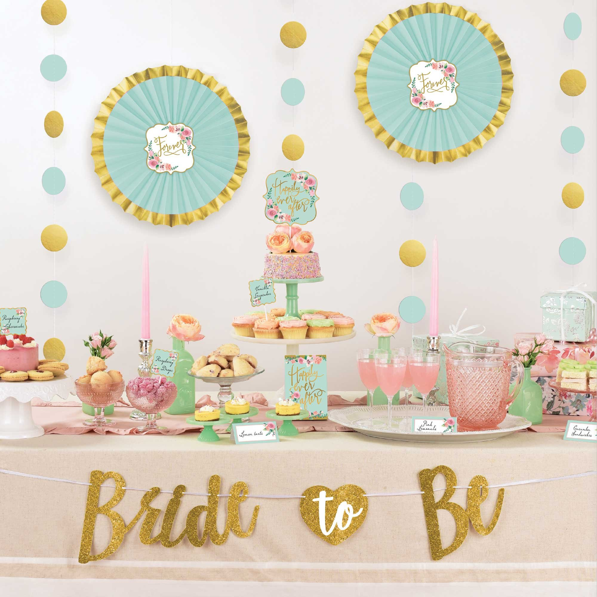 Mint To Be Buffet Table Decorating Kit