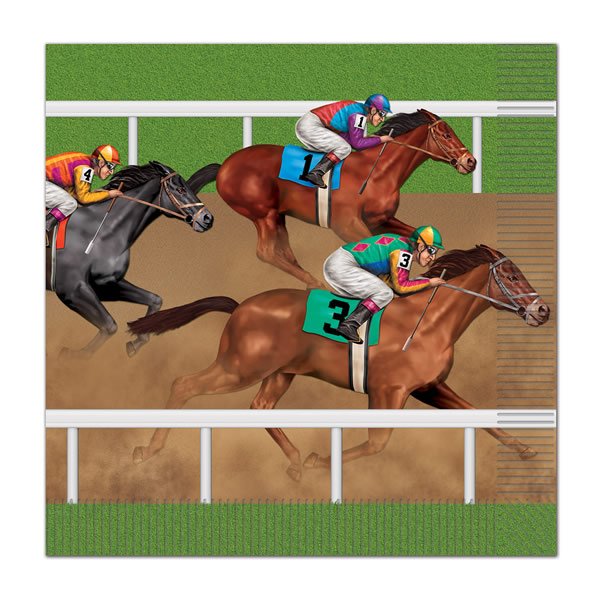 Horse Racing Lunch Napkins