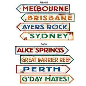 Australian Street Signs Cutouts