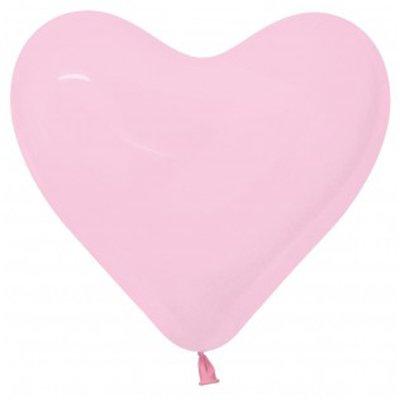 Sempertex 28cm Hearts Fashion Pink Latex Balloons 009, 12PK