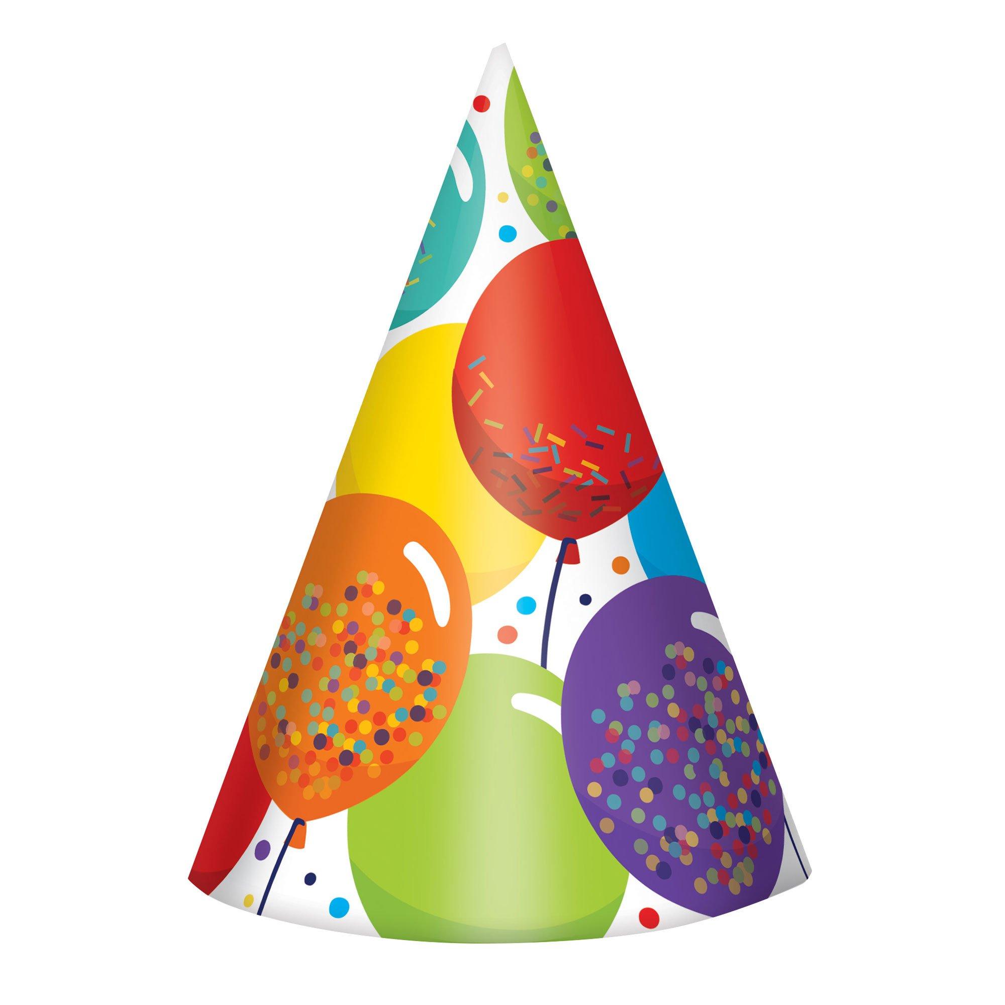 Birthday Celebration Party Cone Hats