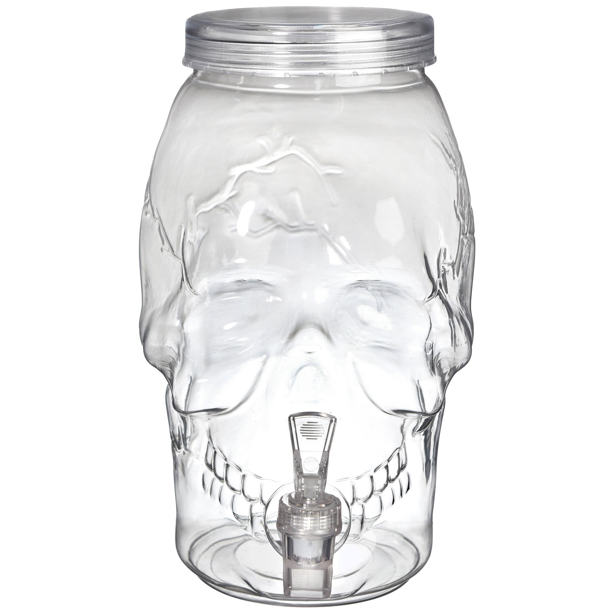 Skull Shaped Drink Dispenser