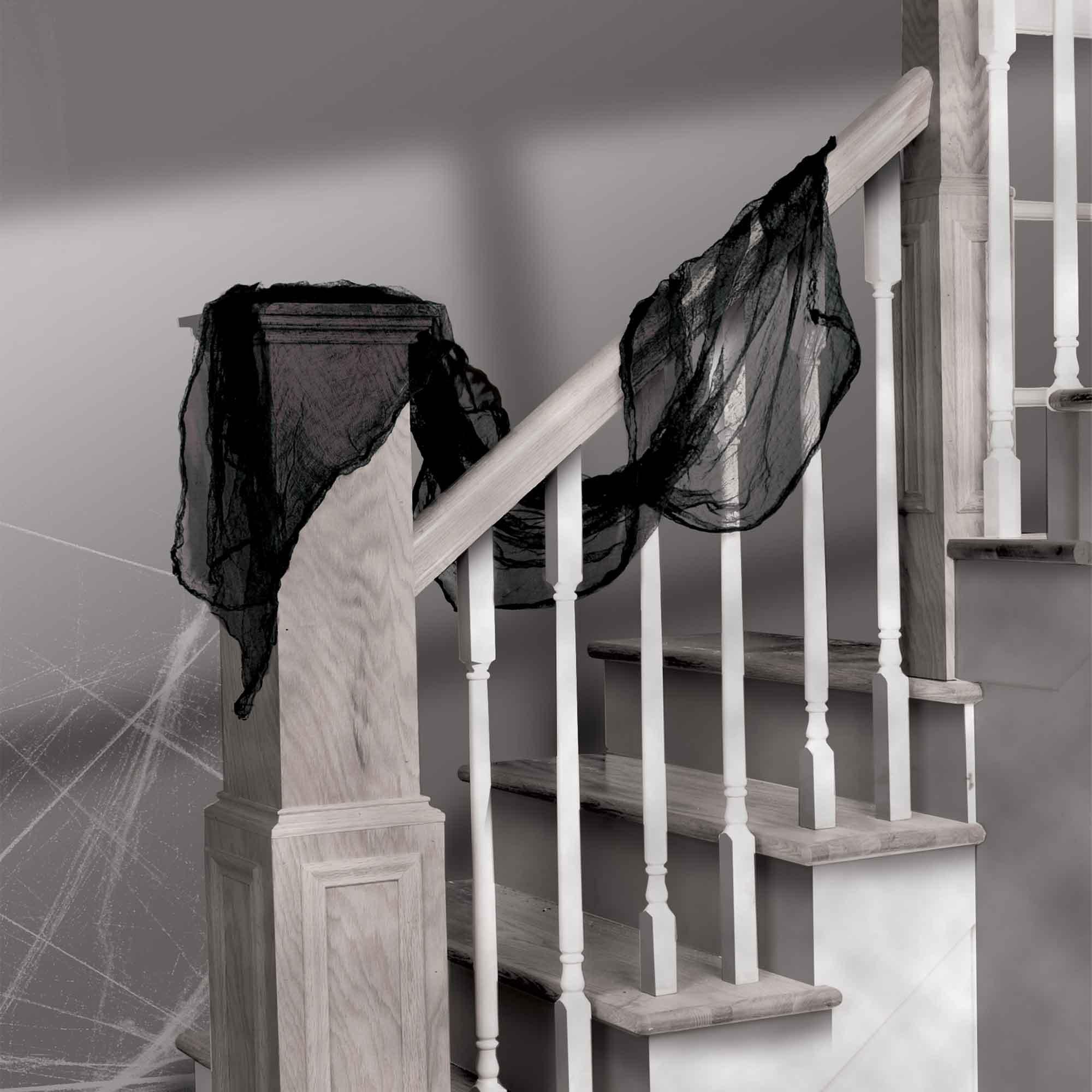 Black Gauze Cloth Decoration