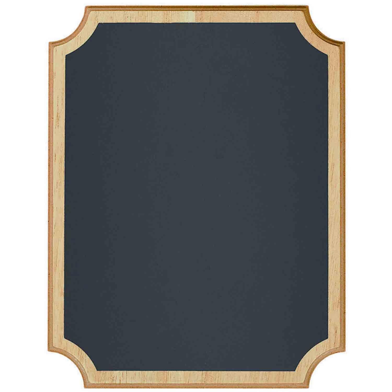 Chalkboard Sign MDF Easel Sign - Natural