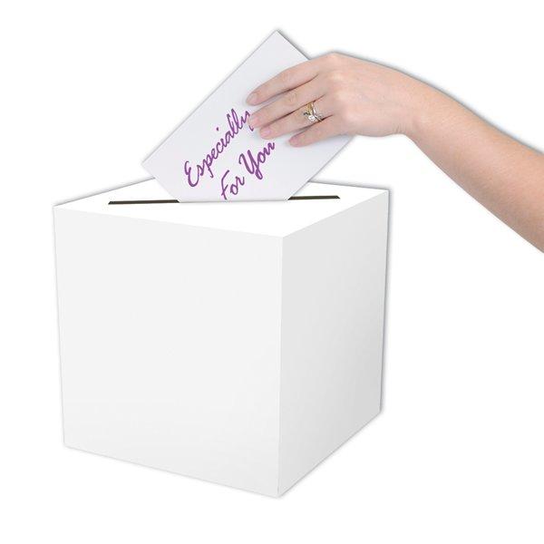 Receiving Card Box White All Purpose 23cm x 23cm