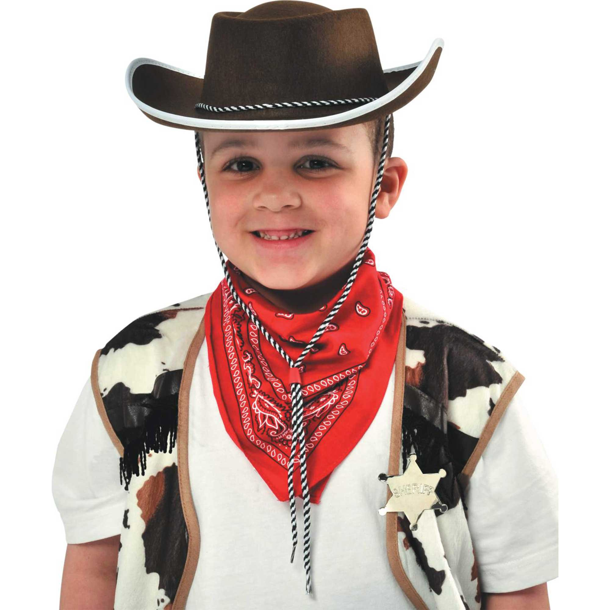 Cowboy Child Hat Brown