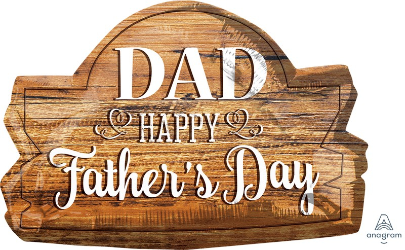 SuperShape DAD Happy Father's Day Wood Marquee P30