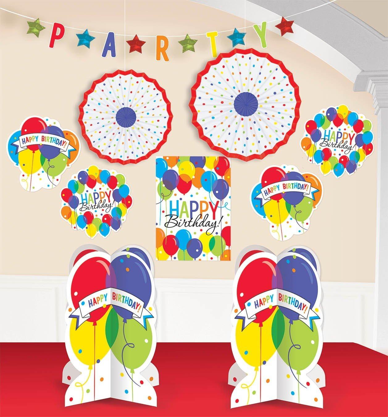 Balloon Bash Room Decorations Kit