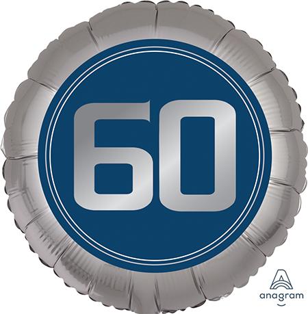 45cm Standard XL Happy Birthday Man 60 S40