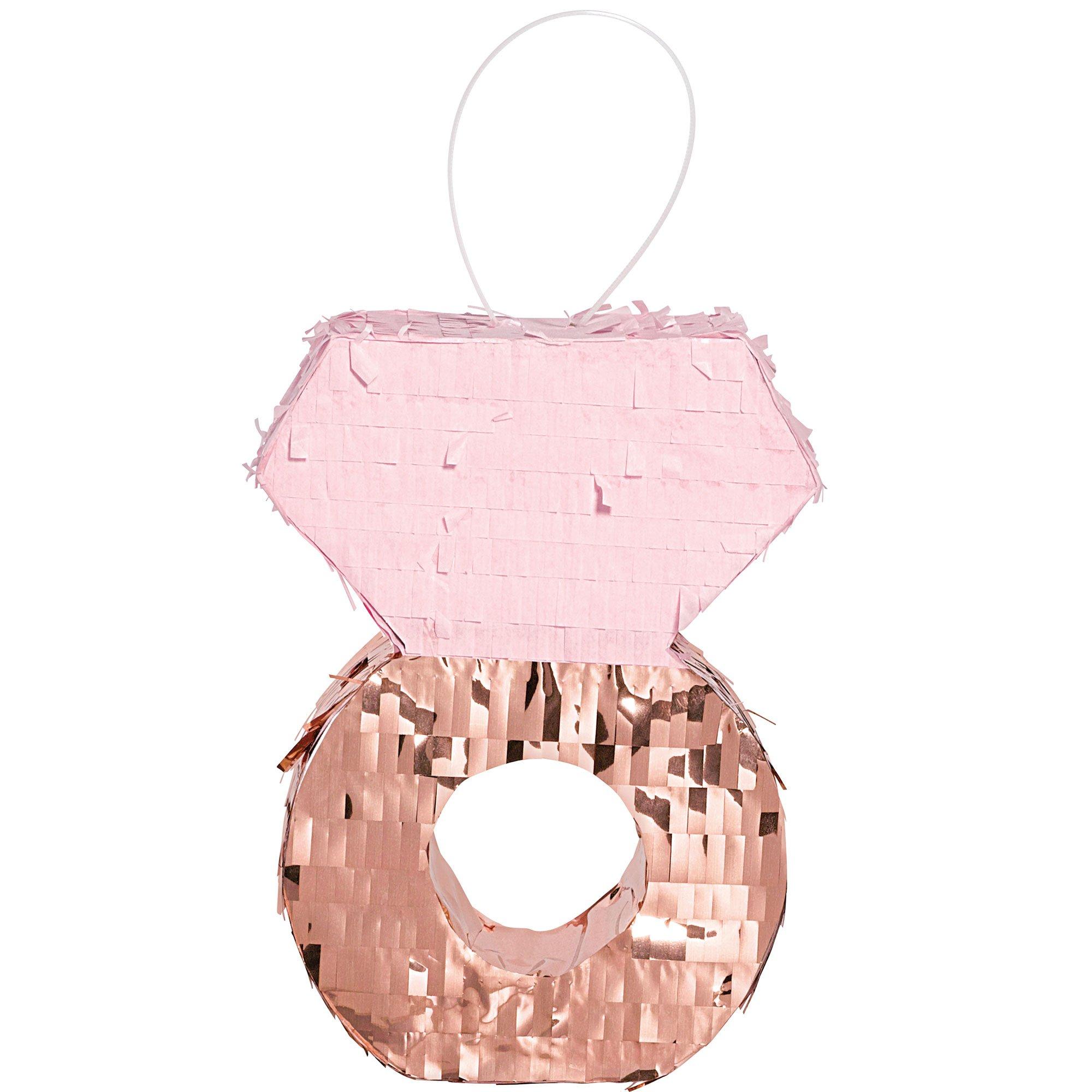 Blush Wedding Ring Mini Decoration