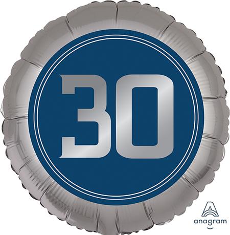 45cm Standard XL Happy Birthday Man 30 S40