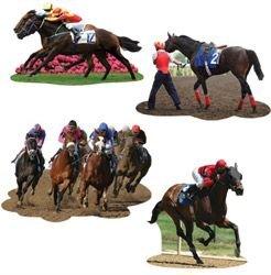 Horse Racing Cutouts