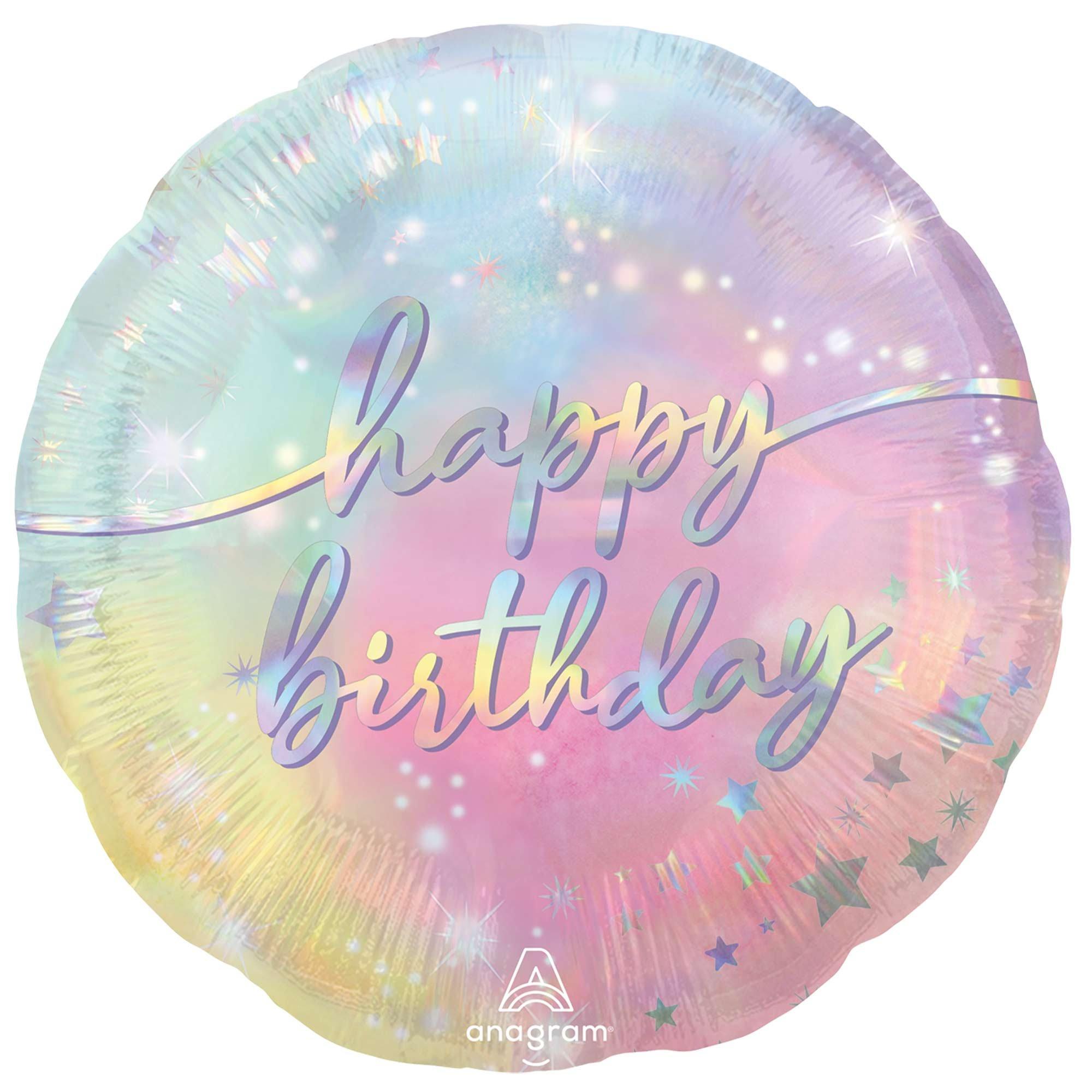 45cm Standard HX Luminous Happy Birthday S40