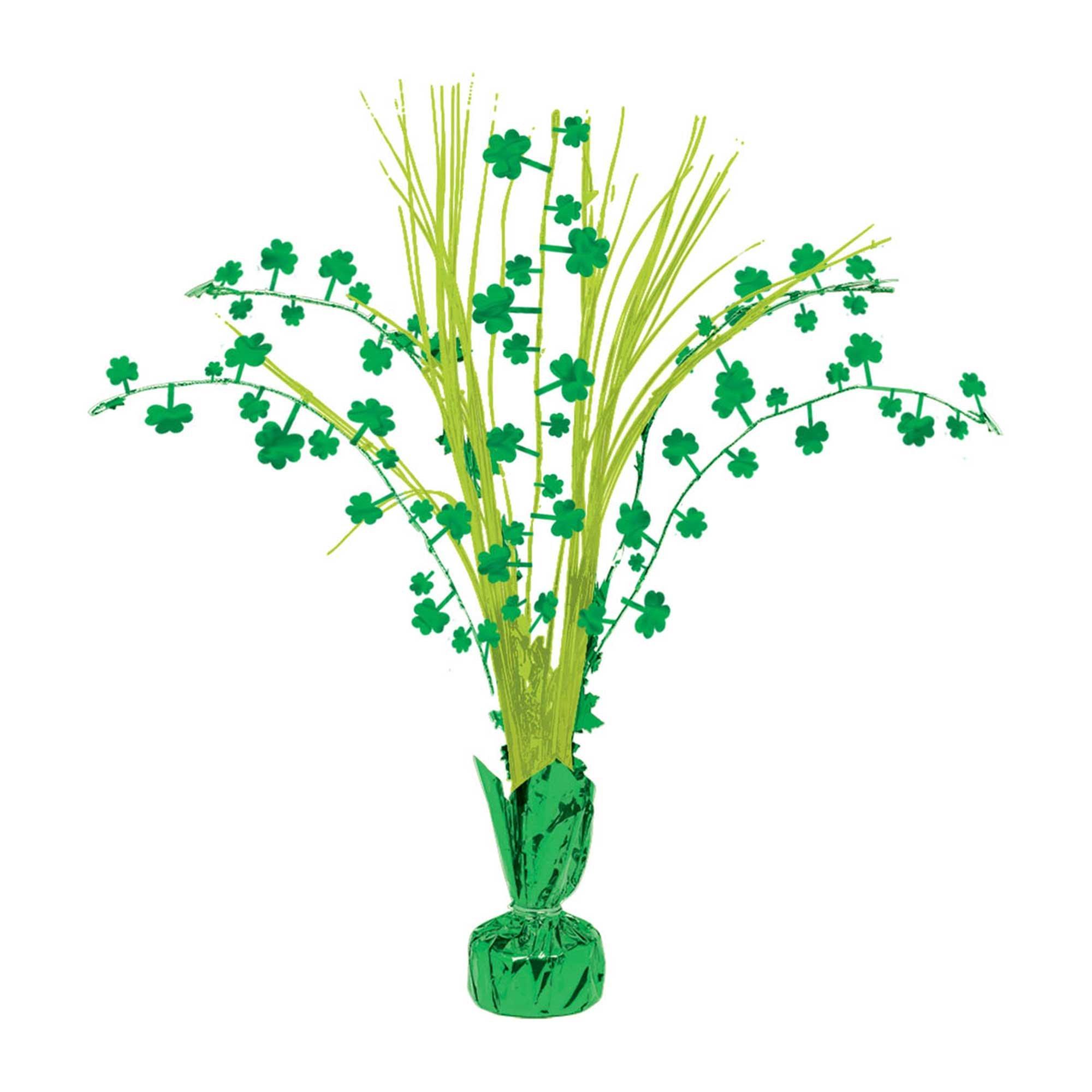 St Patrick's Day Shamrock Centrepiece 30cm