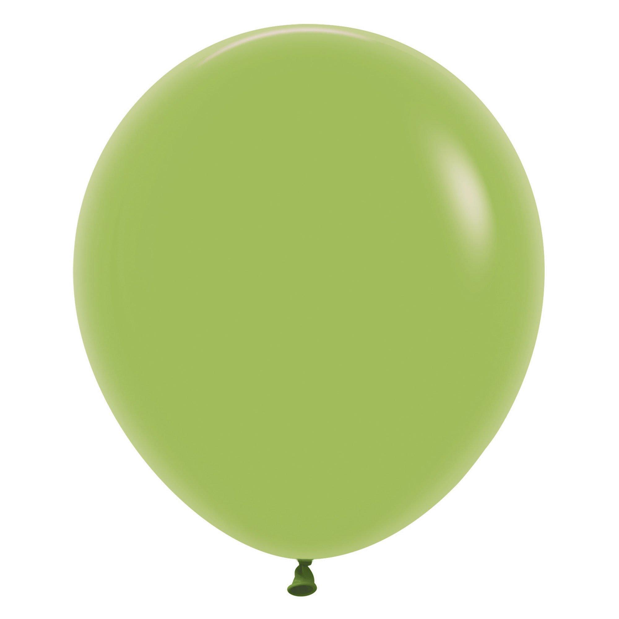 Sempertex 45cm Fashion Lime Green Latex Balloons 031, 6PK