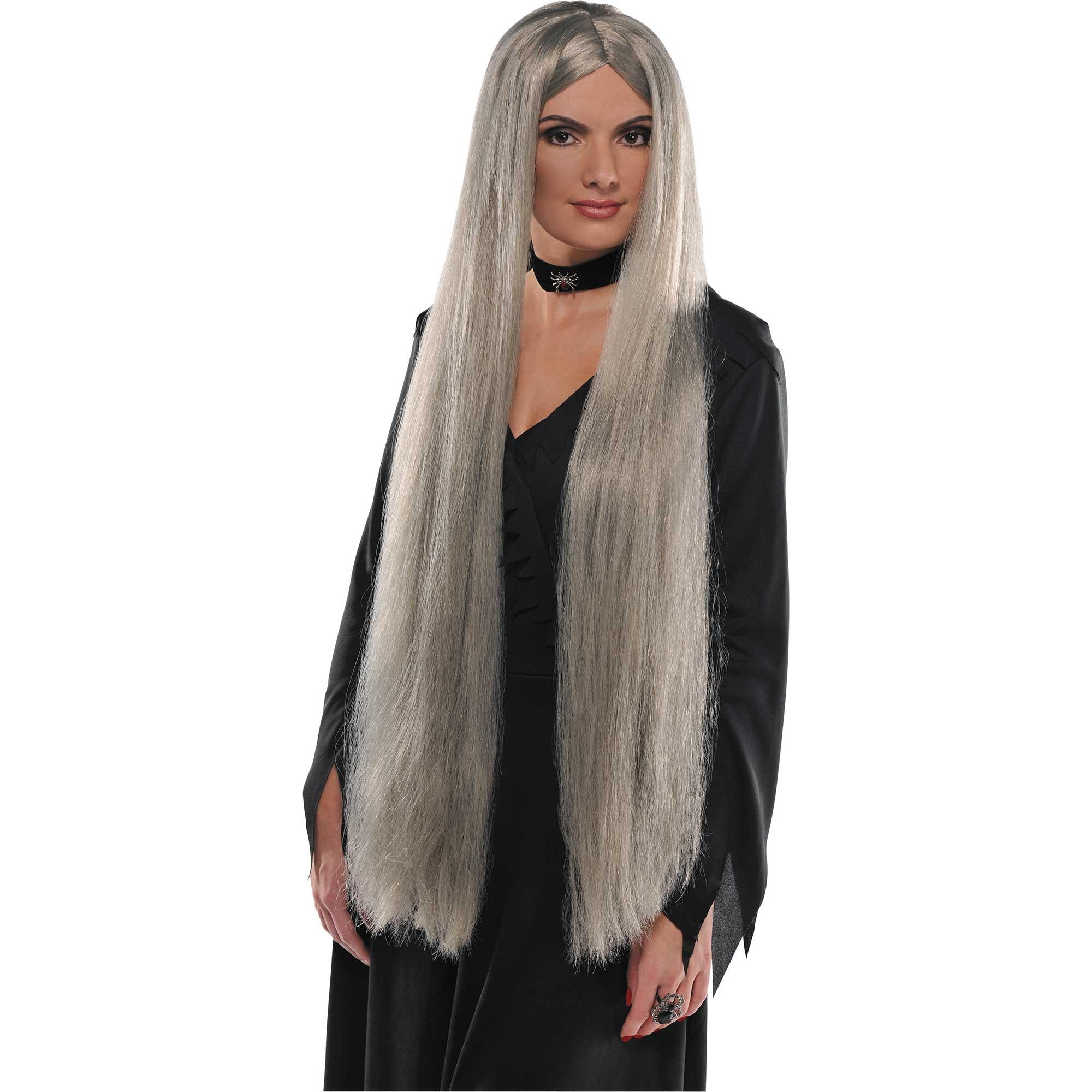 Wig Grey Extra Long