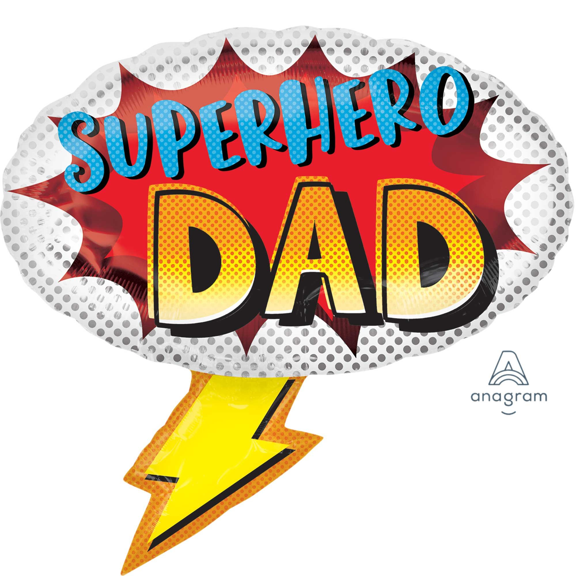 SuperShape Superhero Dad P30
