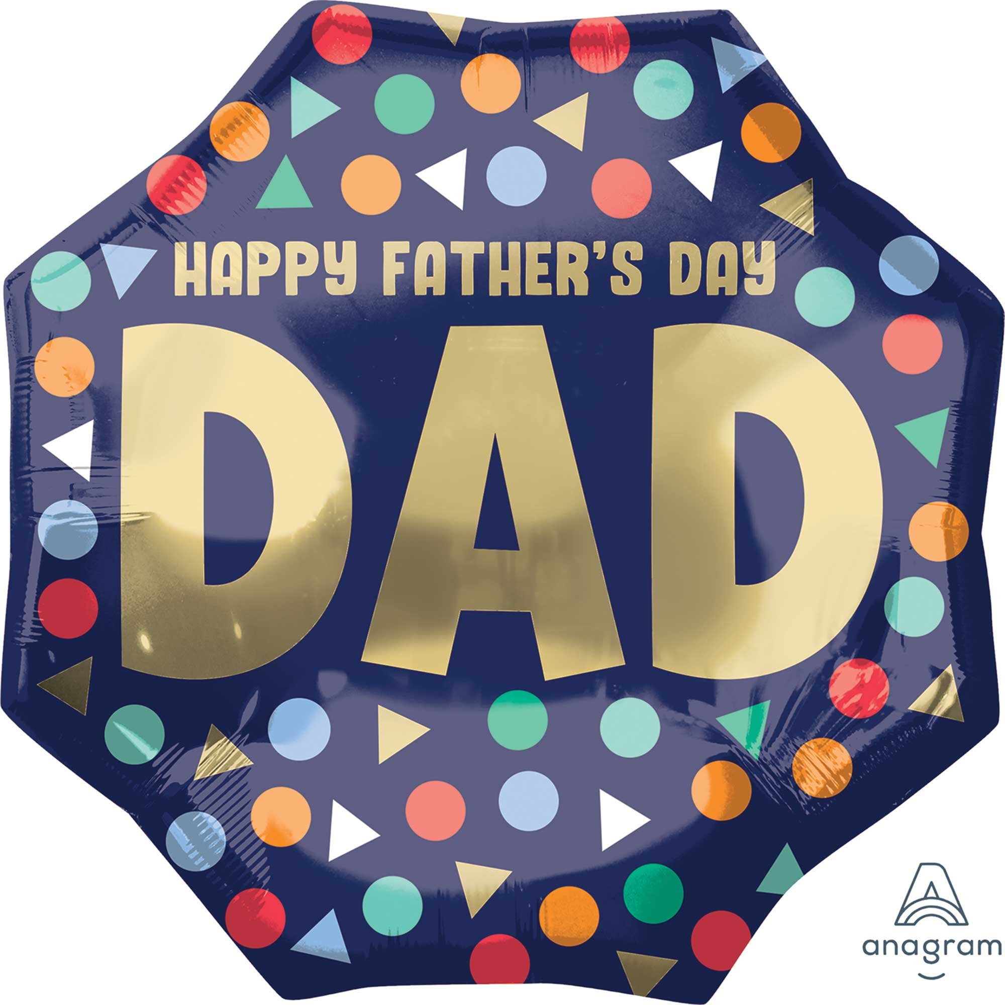 SuperShape XL Happy Father's Day Dad P32
