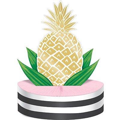 Pineapple Wedding Centrepiece Honeycomb 30cm x 22cm