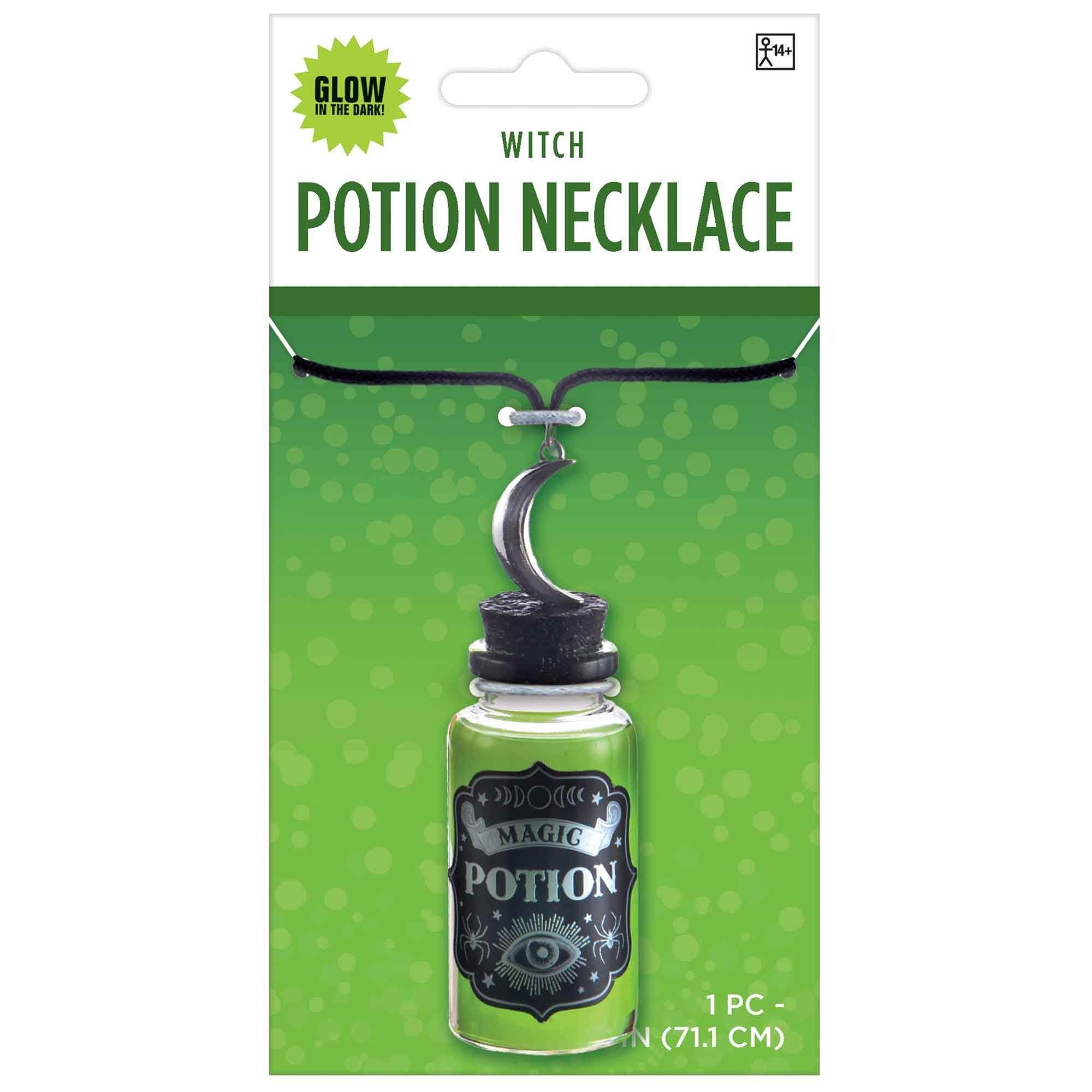 Witch Magic Potion Necklace