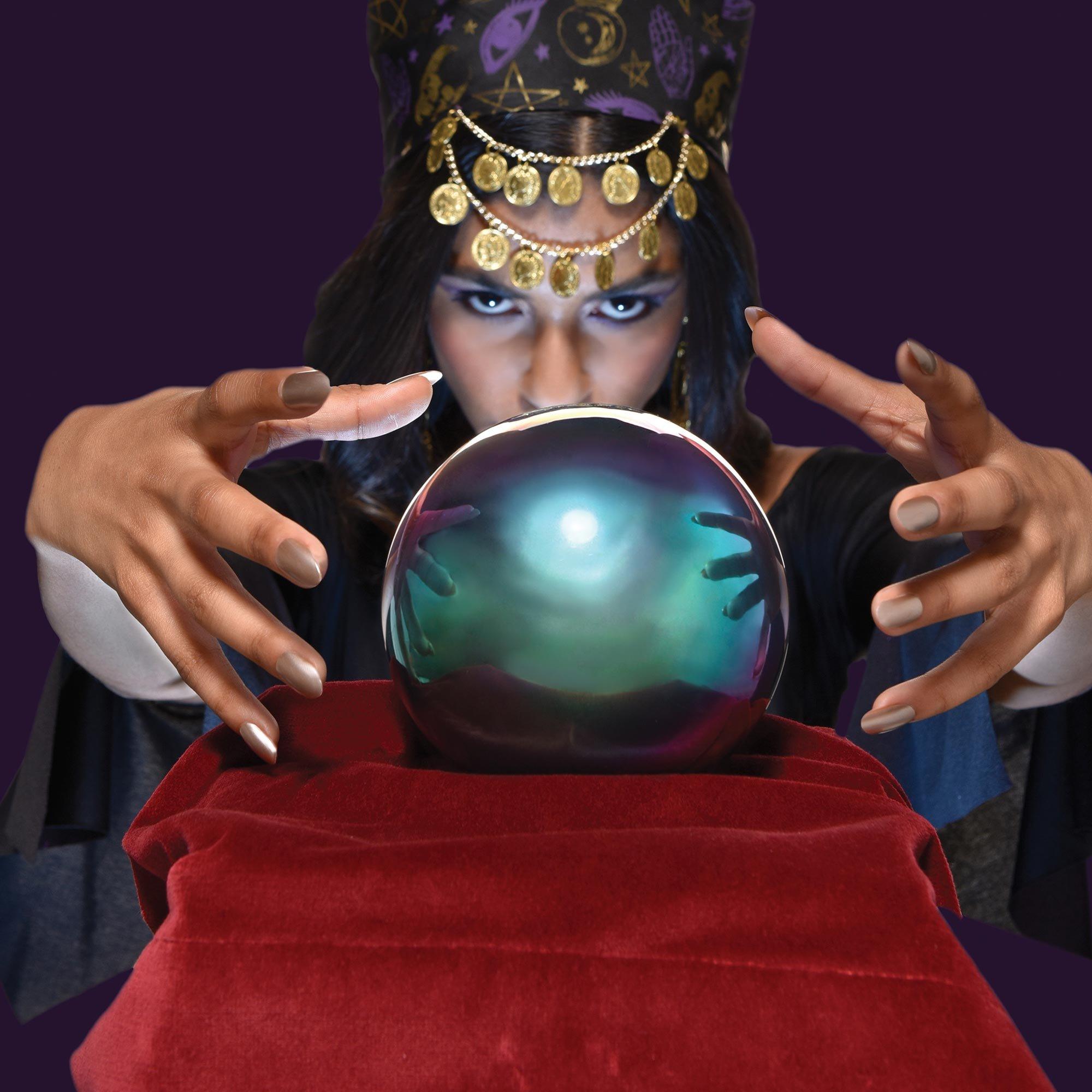 Fortune Teller Crystal Ball Light-Up