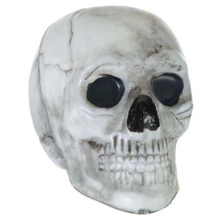 Mini Skulls Decorations Plastic
