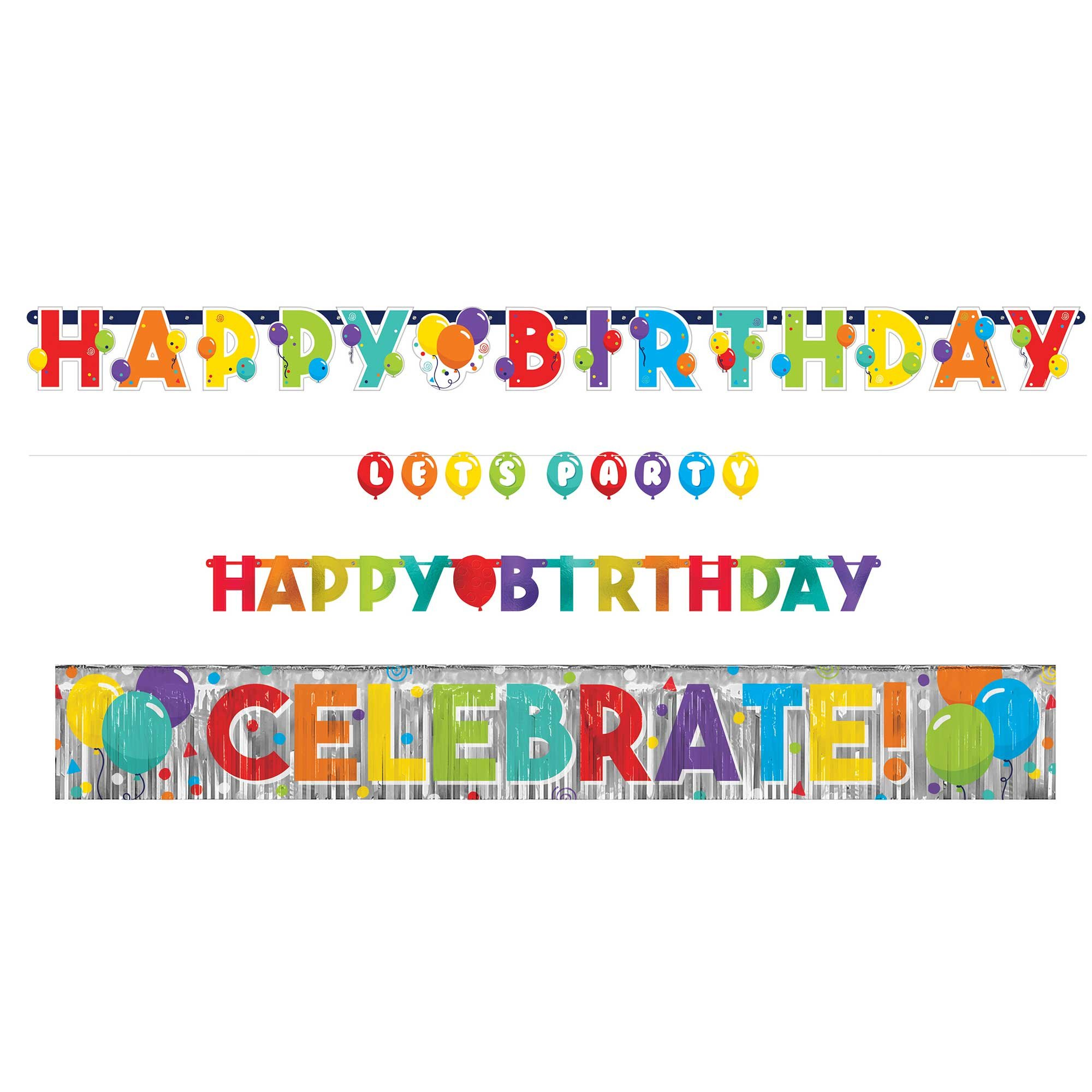 Birthday Celebration Banner Kit