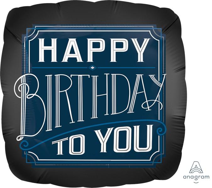 Jumbo Shape HX Happy Birthday Man P32
