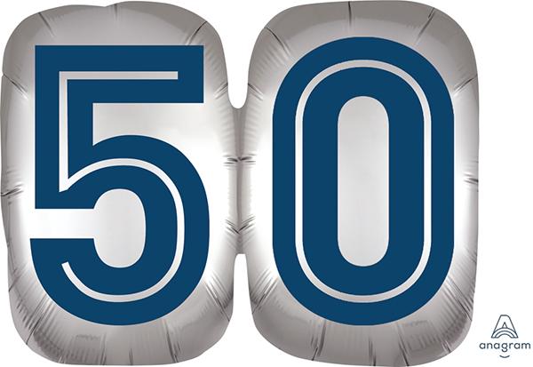 SuperShape Happy Birthday Man 50 P35