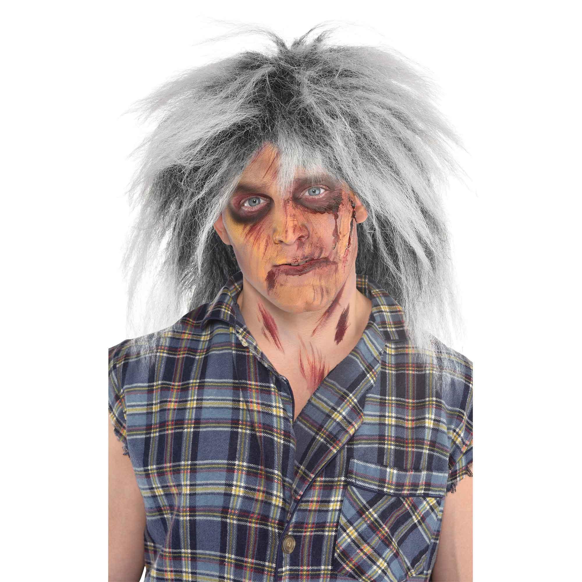 Doomsday Zombie Grey Wig