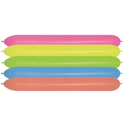 Sempertex 150cm Link O Loon Neon Assorted Latex Balloons, 20PK