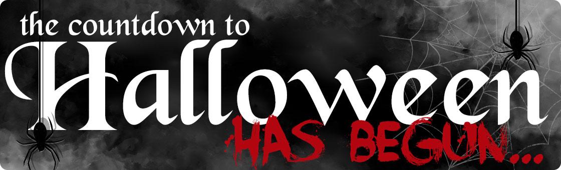 Countdown to Halloween has begun