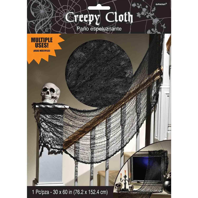 Creepy Cloth Black Decoration