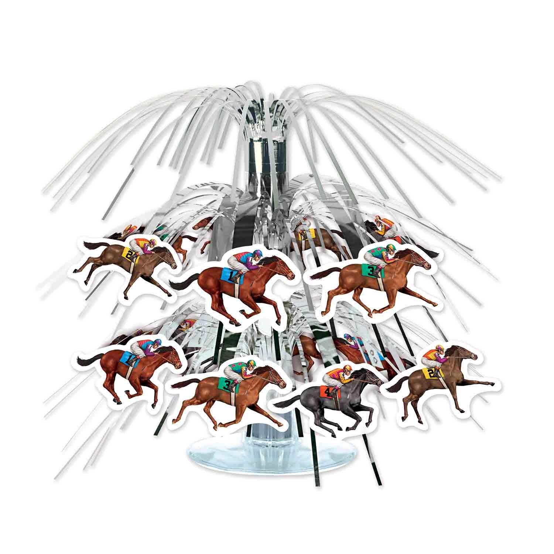 Horse Racing Mini Cascade Centrepiece