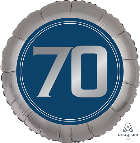 45cm Standard XL Happy Birthday Man 70 S40