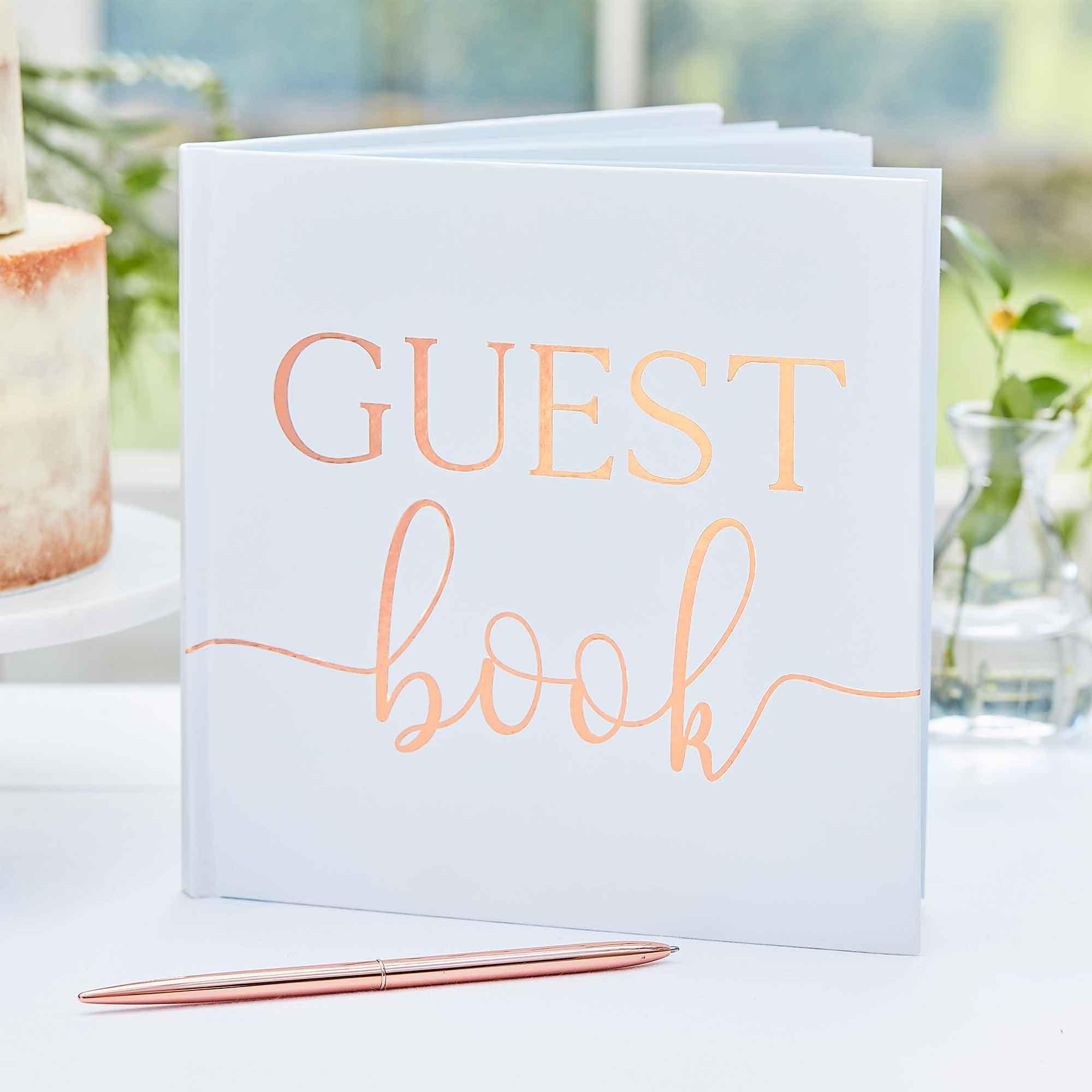Botanical Wedding Guest Book