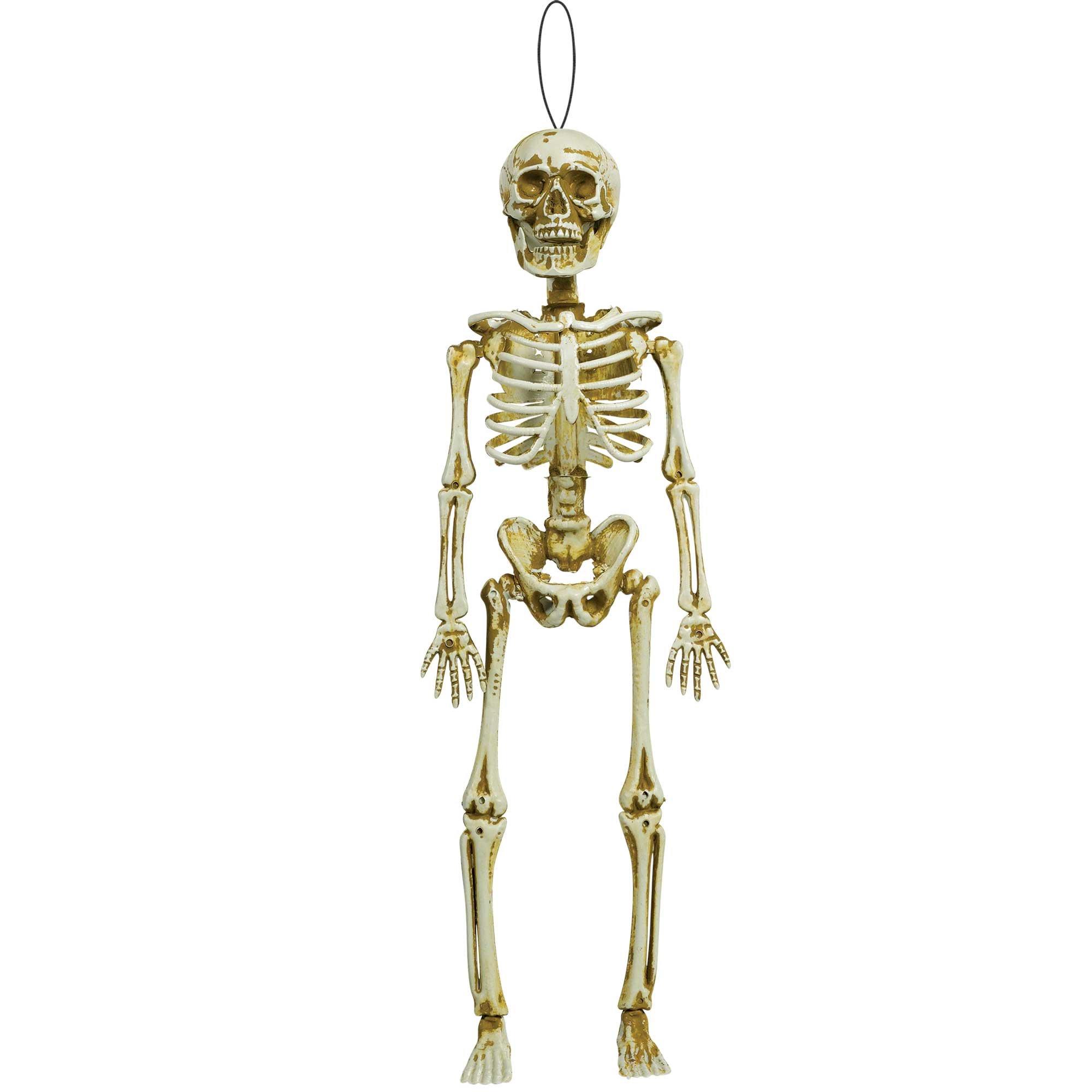 Hanging Skeleton Decoration Plastic
