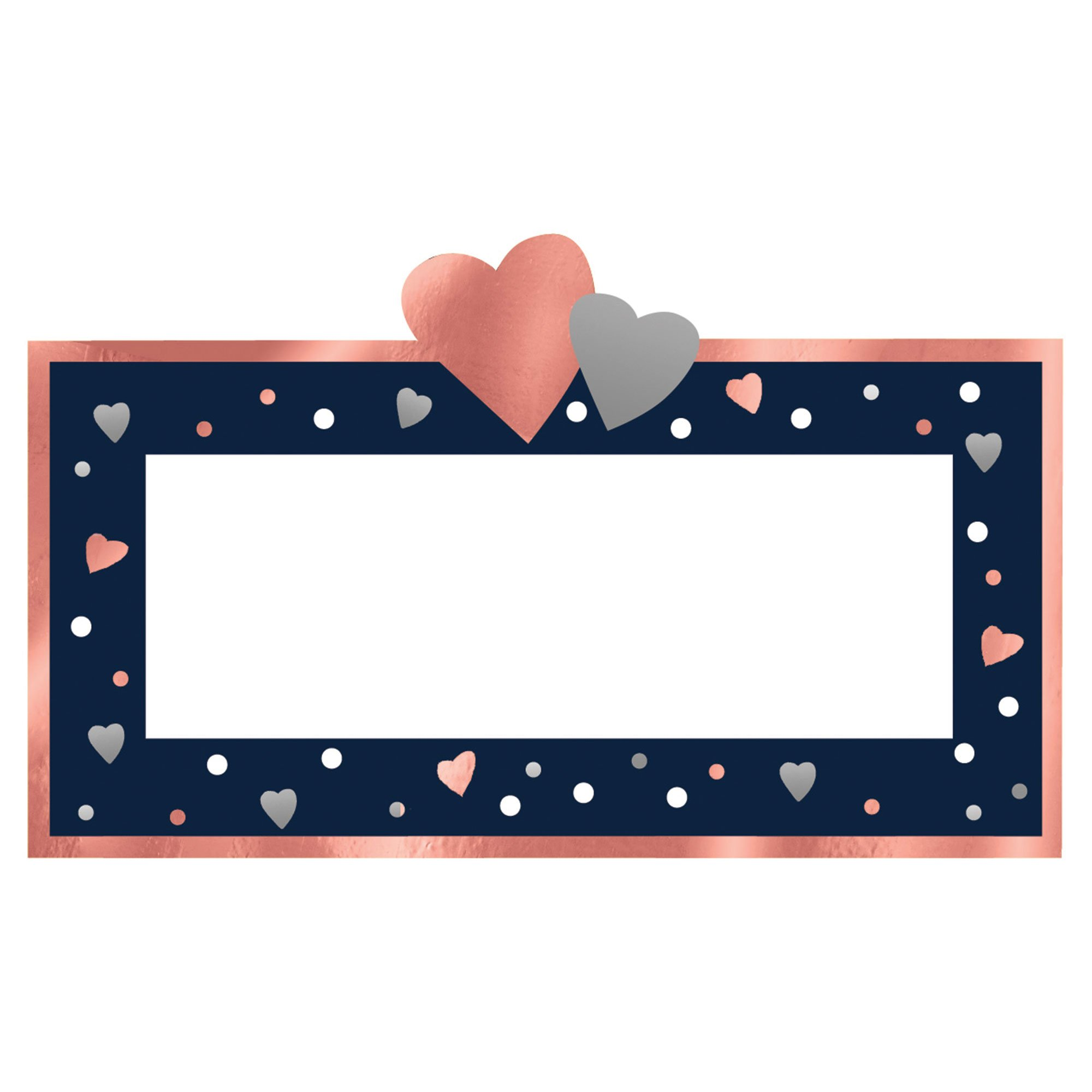 Navy Bride Place Cards