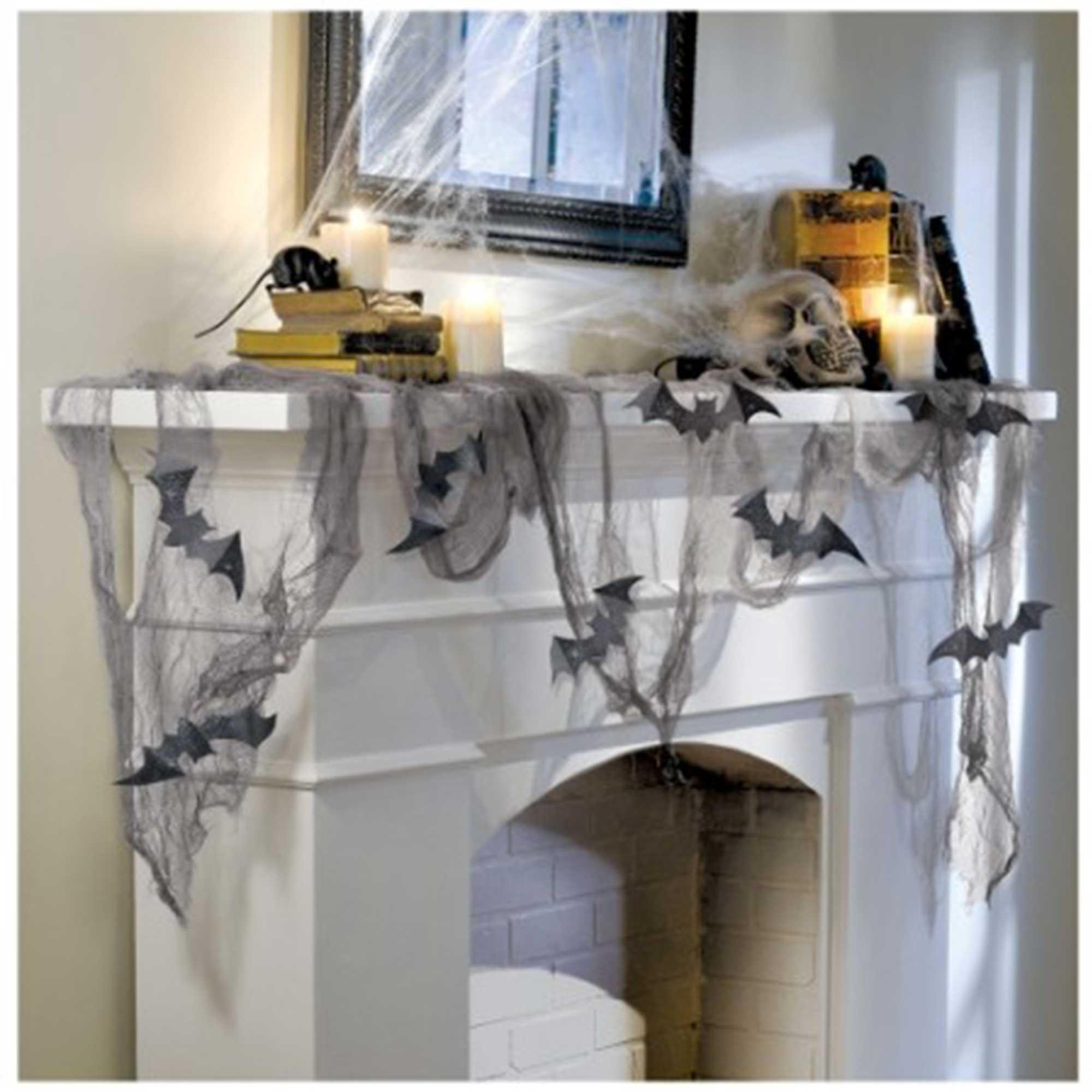Glittered Bats & Gauze Decorating Kit